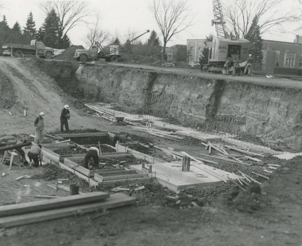 Library construction, 1963