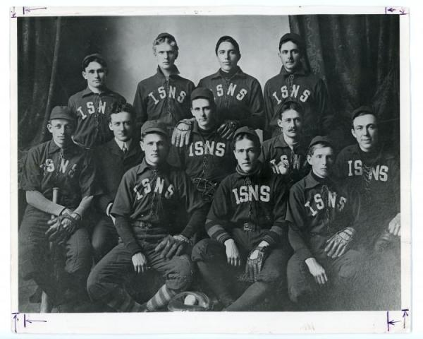 ISTC Baseball Team, c. 1902
