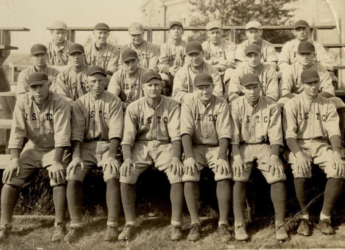 Baseball team, about 1919