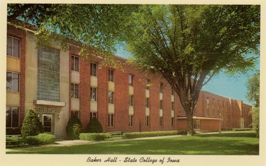Baker Hall Postcard