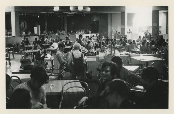 Maucker Union Cafeteria, 1969