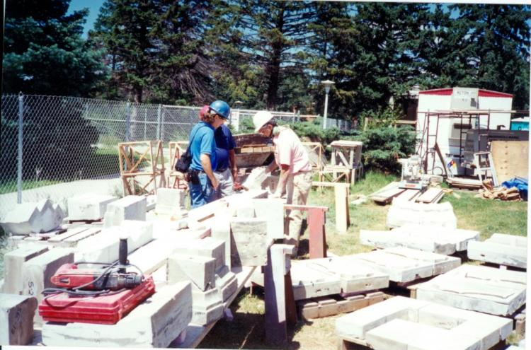 Campanile restoration