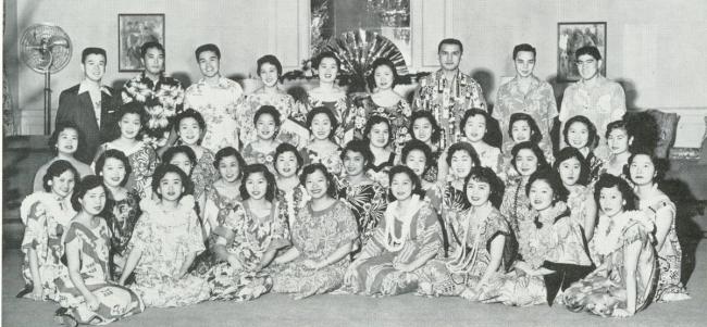 The Hawaiian Club, 1958