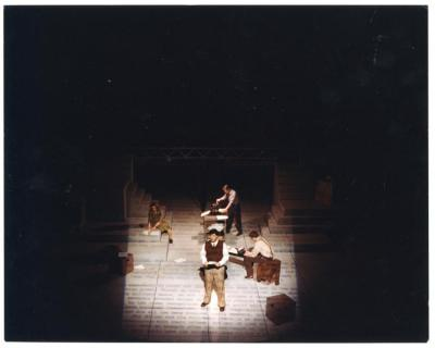 Photo from The Rose of Treason Performance