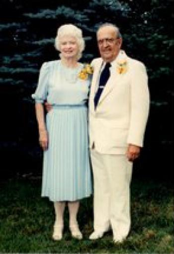 Richard and Mary Sucher's fiftieth wedding anniversary
