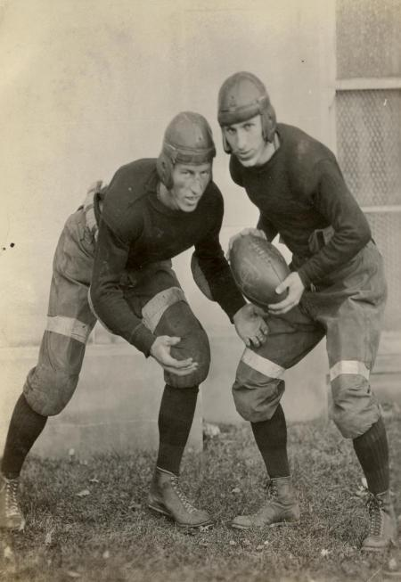Lawrence Whitford, left, and Wilson Sherrard, right.