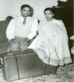 Mr. and Mrs. Naim Gupta