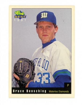 Bruce Bensching baseball card