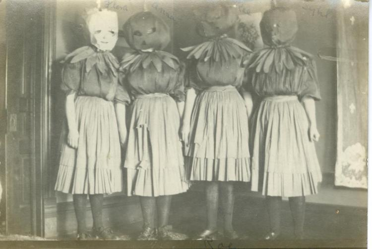 Halloween fun, about 1908
