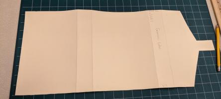 Partial folder laid out
