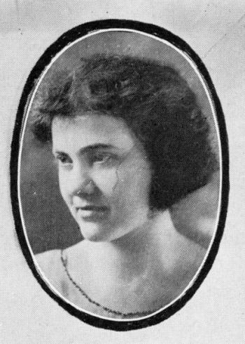 Anna Beatrice Decker, 1921
