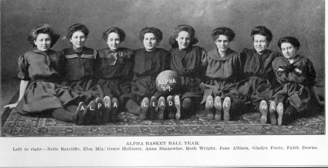 1909 Alpha basketball team