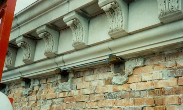 Bricks near top of Campanile