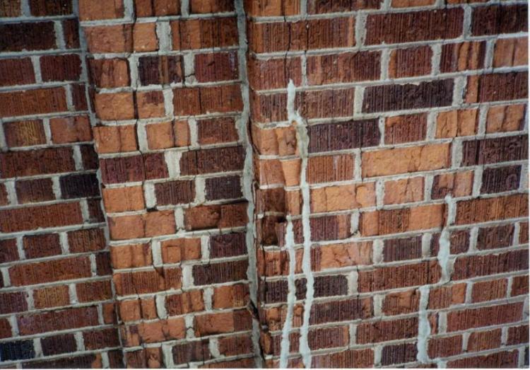 Campanile brickwork