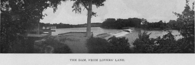 The dam on the Cedar River