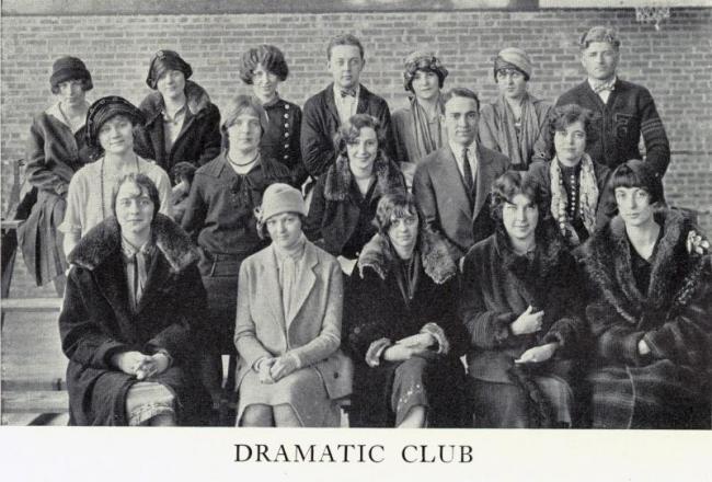 Dramatic Club, 1926