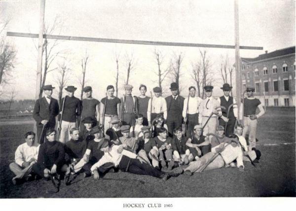 Men's field hockey team, 1905