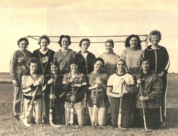 Field hockey team, 1977