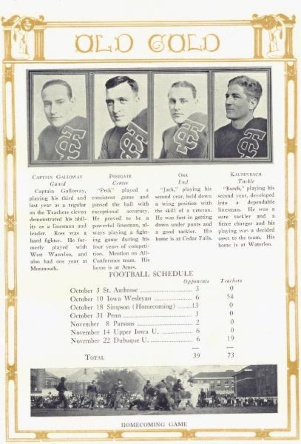 Football team, 1924