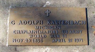 Gustave Kaltenbach's gravestone