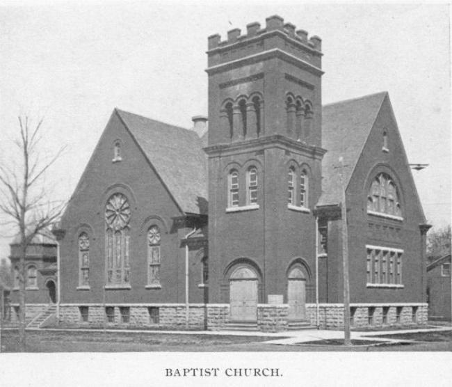 Baptist Church, Cedar Falls