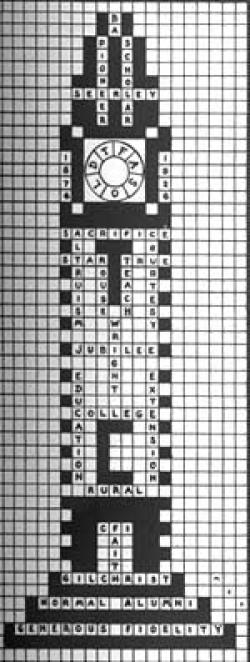 Campanile Crossword