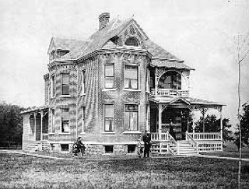 President's Cottage in late 1890s