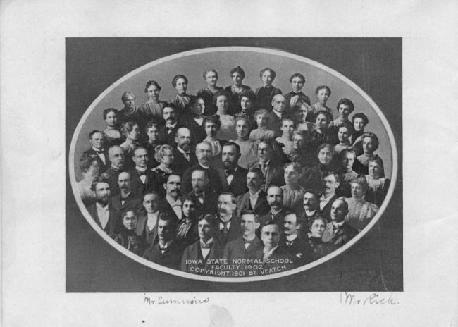Iowa State Normal School faculty, 1902.
