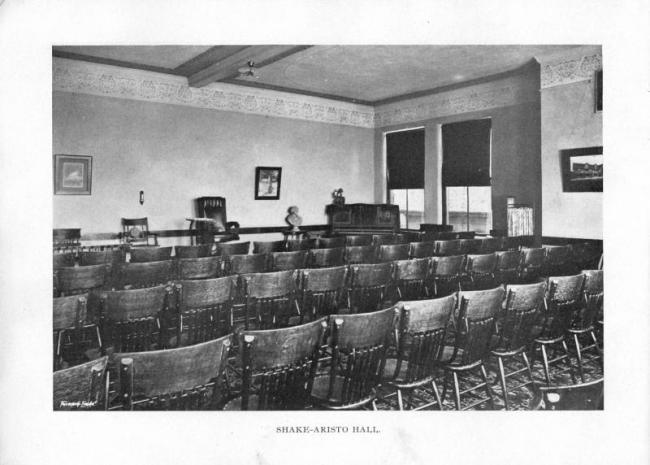 Shake-Aristo Hall