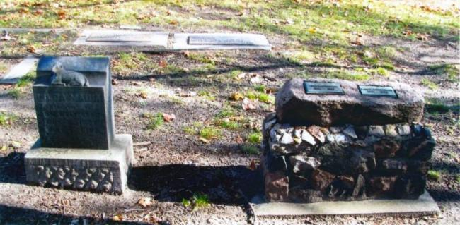 Kaltenbach cemetery plot