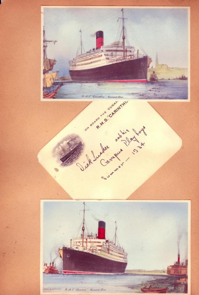 Carinthia and Laconia postcards