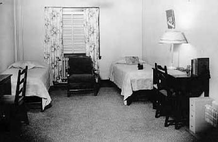 Lawther Hall student's room