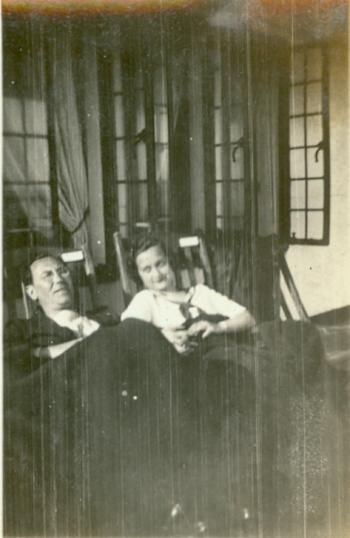 Marcel Maurel and Betty Lewis