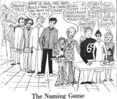 Naming cartoon