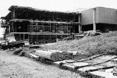McCollum Science Hall construction