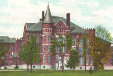 Old Administration Building postcard