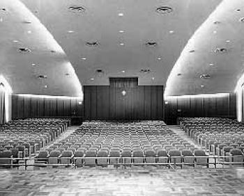 Russell Hall auditorium