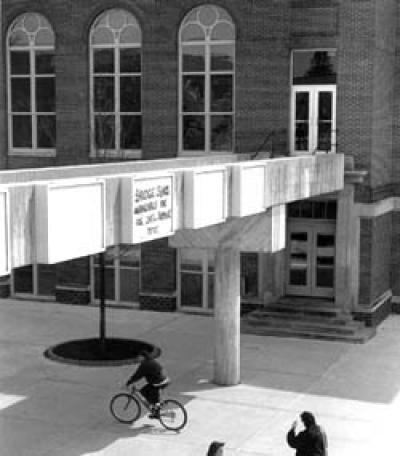 Sabin Hall catwalk
