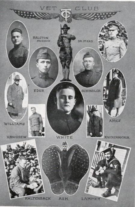 Vets Club, 1923