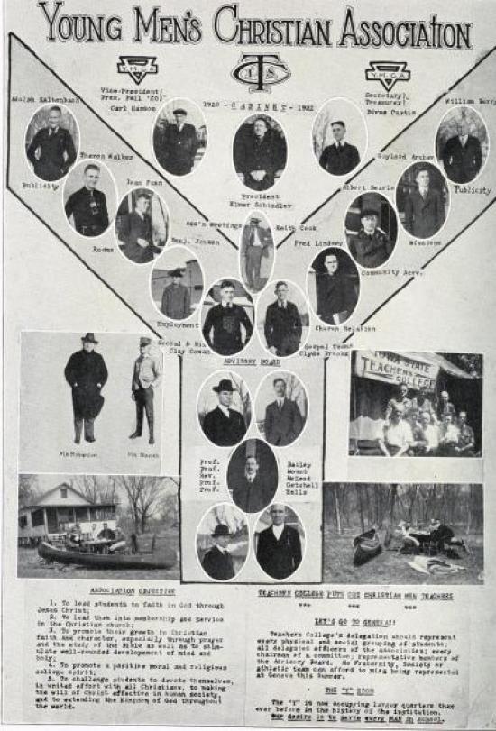 YMCA, 1921