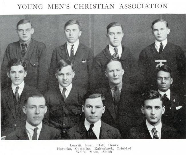 YMCA leadership, 1922