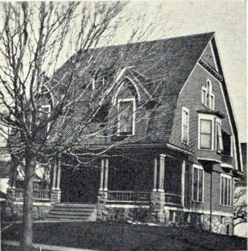 Lambda Gamma Nu house, 1926