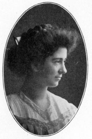 Lenore Shanewise, graduation, 1909
