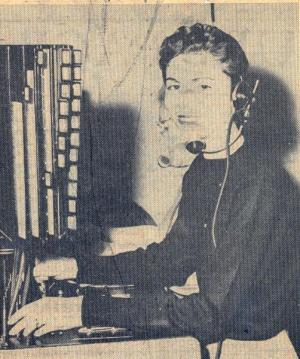 Melba Miller, 1956