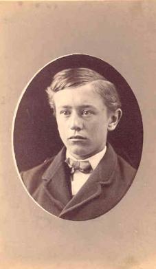Frank Ivan Merchant, about 1870.