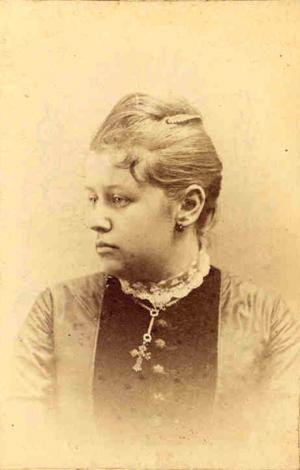Kate Matilda Merchant, 1879.
