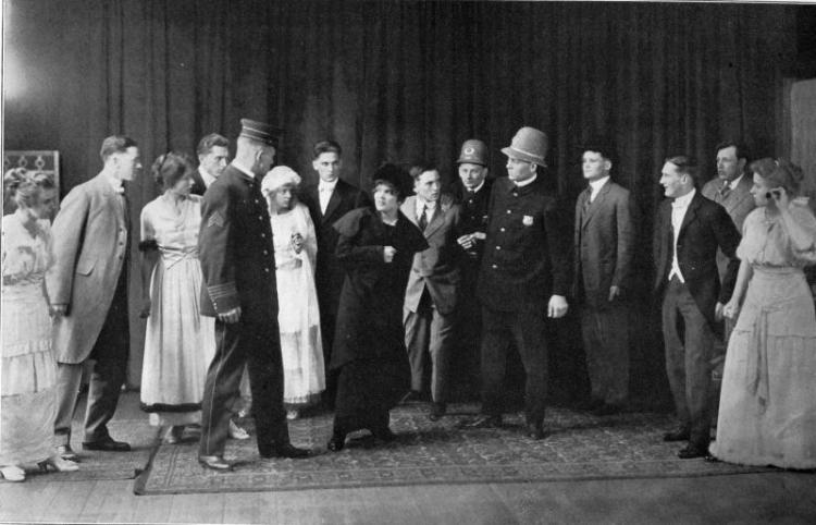 Commencement play, 1914