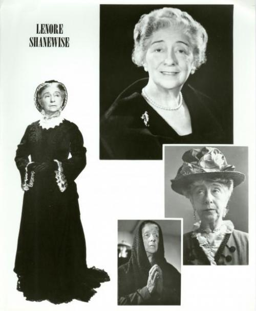 Lenore Shanewise publicity montage.