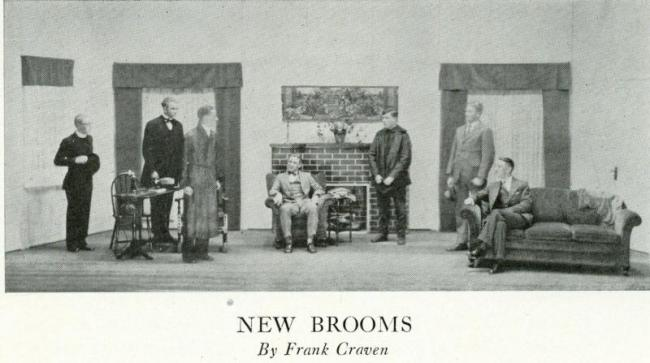 """A scene from """"New Brooms"""", 1927"""