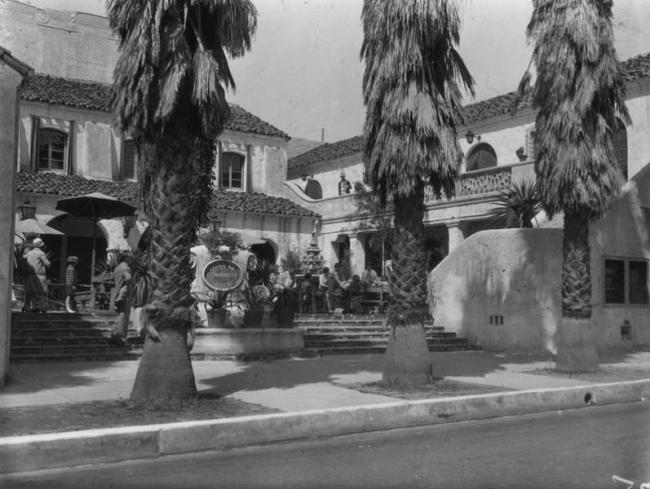 Pasadena Playhouse, about 1934.